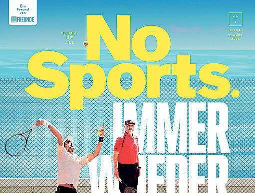 """Erstausgbe """"NoSports"""" von Gruner + Jahr"""