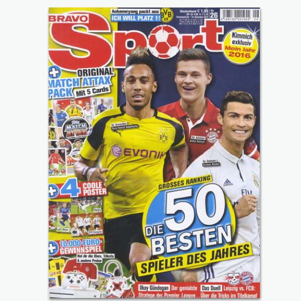 BRAVO Sport - Sportmagazin abonnieren
