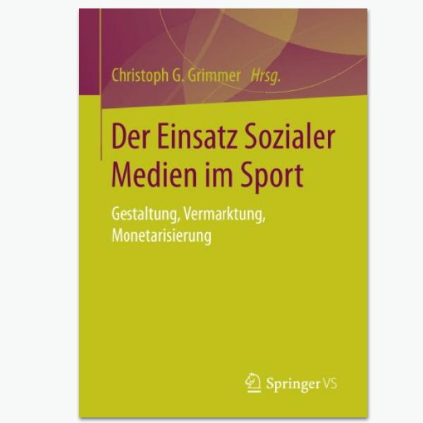 Einsatz Sozialer Medien im sport - Sportpublizistik-Fachbuch