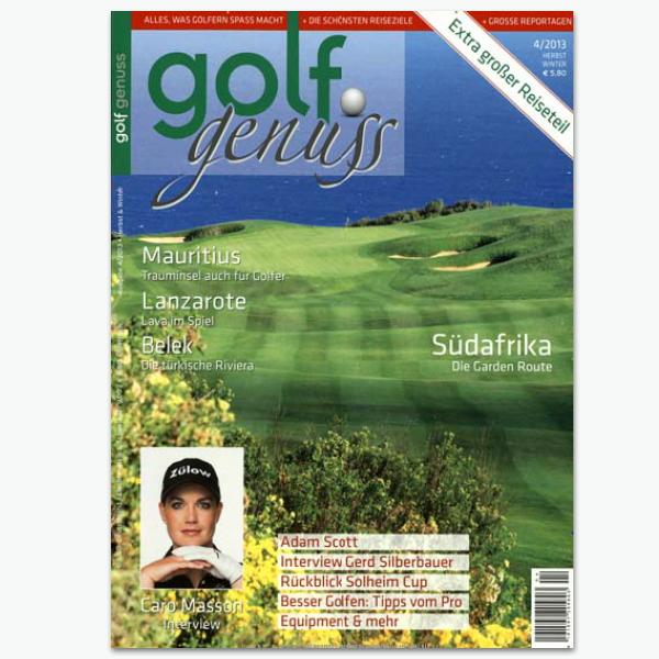 Golf Genuss - Golf-Sportmagazin im Abonnement