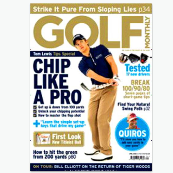 GOLF Monthly - Golf-Sportmagazin im Abonnement