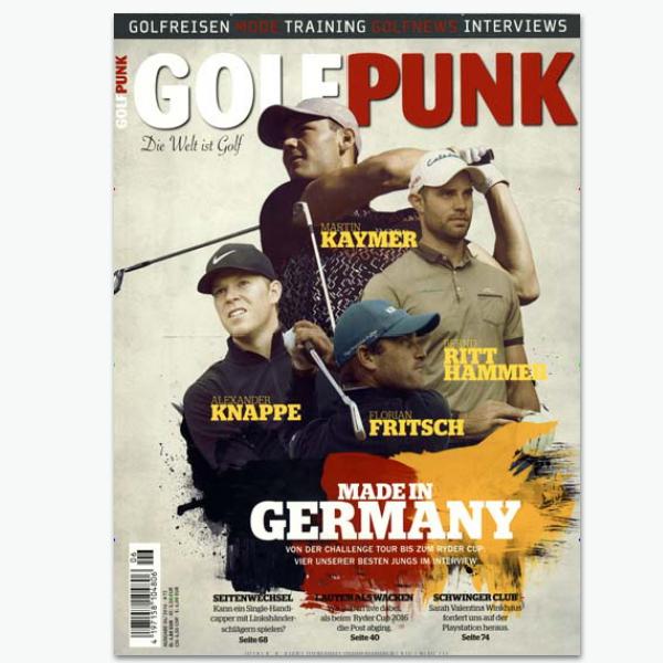 GOLF PUNK - Sportmagazin im Abonnement