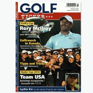 GOLF Ticker - Sportmagazin im Abonnement