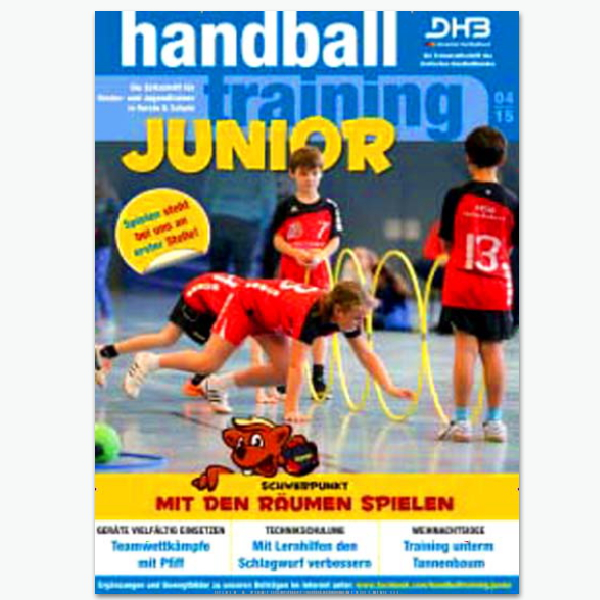 Handballtraining Junior - Sportmagzin im Abonnement