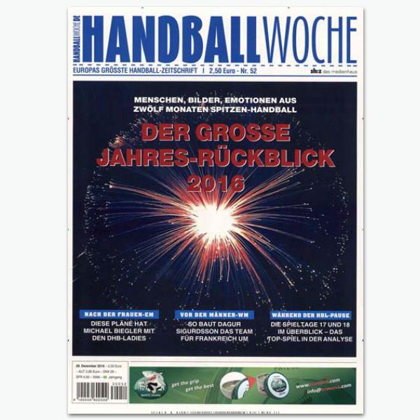 Handballwoche - Sportmagzin im Abonnement