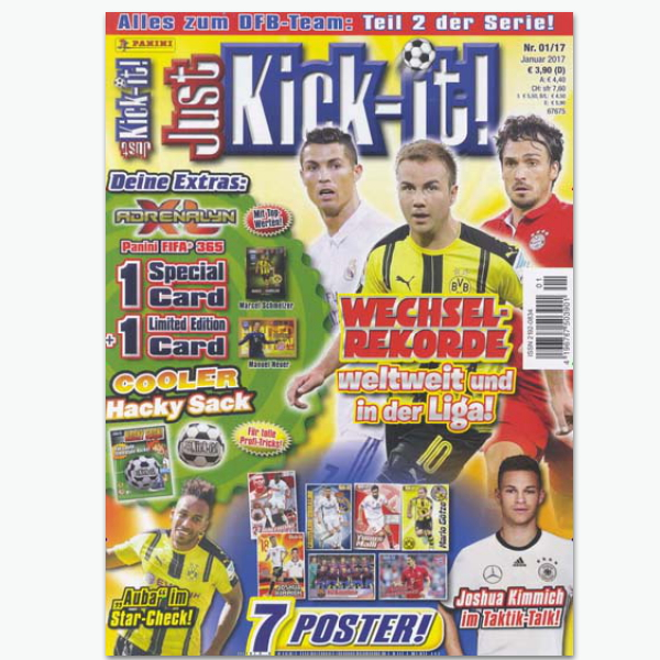 Just Kick-it!- Sportmagazin im Abonnement