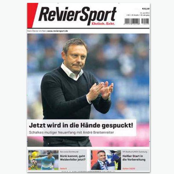 RevierSport - Sportmagazin im Abonnement