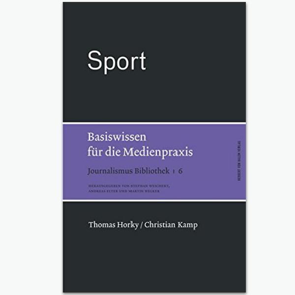 Sport-Basiswissen: Sportpublizistik-Fachbuch