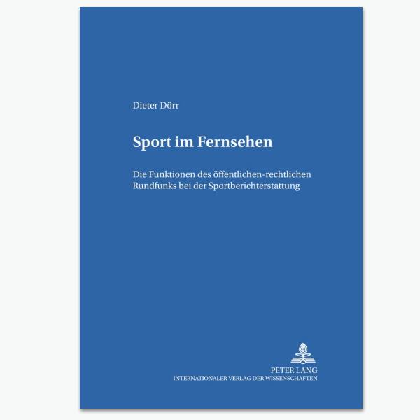 Sport im Fernsehen - Sportpublizistik-Fachbuch