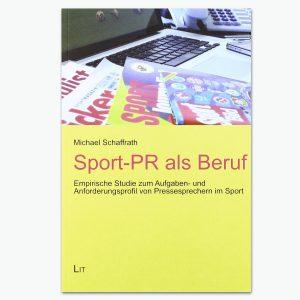 Sport-PR als Buch - Sportpublizistik-Fachbuch