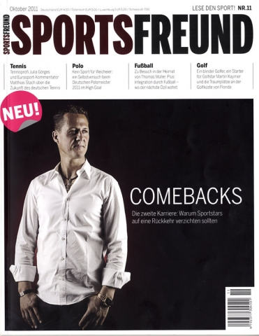 Launch-Cover SPORTSFREUND 11/11