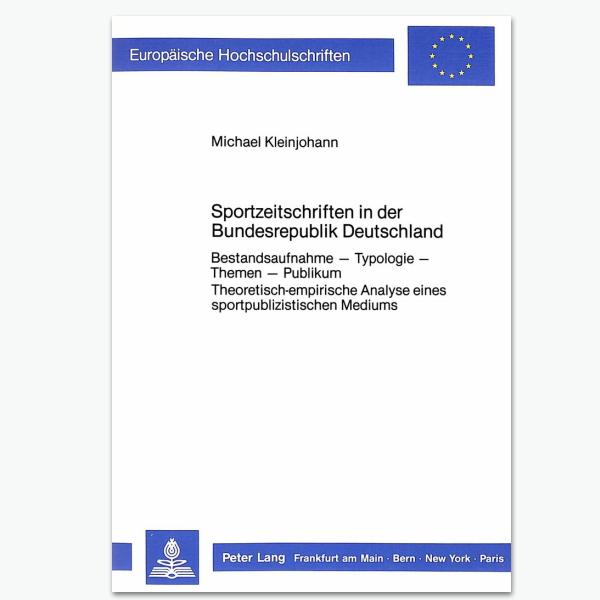 Sortzeitschriften in Deutschland - Sportpublizistik-Fachbuch