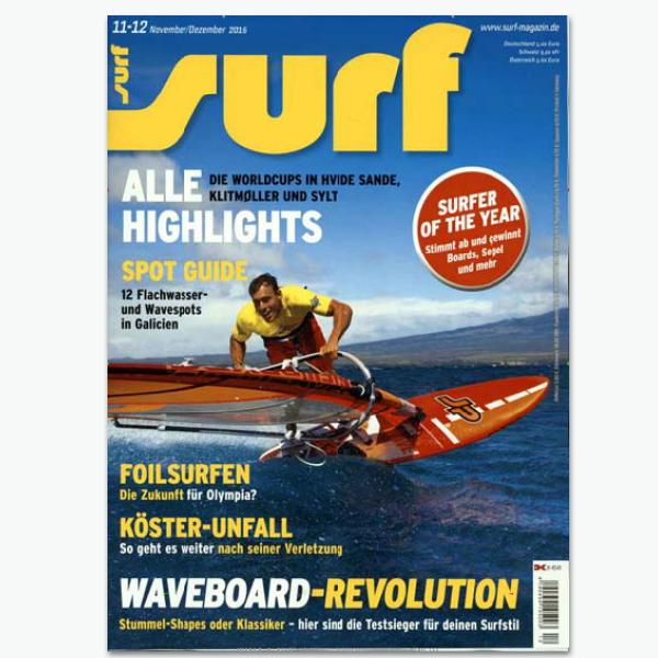 SURF-Sportmagazin im Abonnement