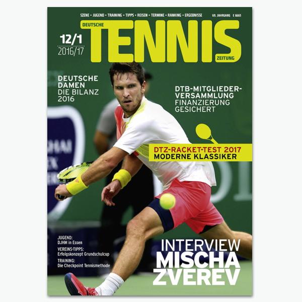 Deutsche Tennis Zeitung DTZ - Sportmagazin im Abonnement