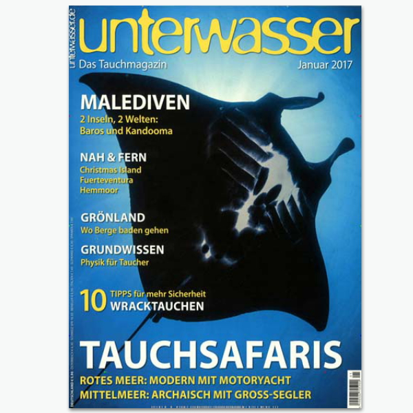 Unterwasser - Sportmagazin im Abonnement