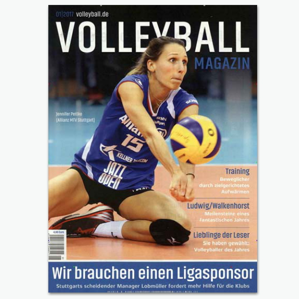 Volleyball Magazin - Sportmagazin im Abonnement