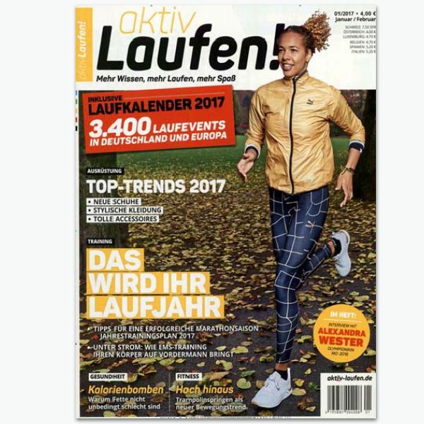 aktiv Laufen - Sportmagazin im Abonnement