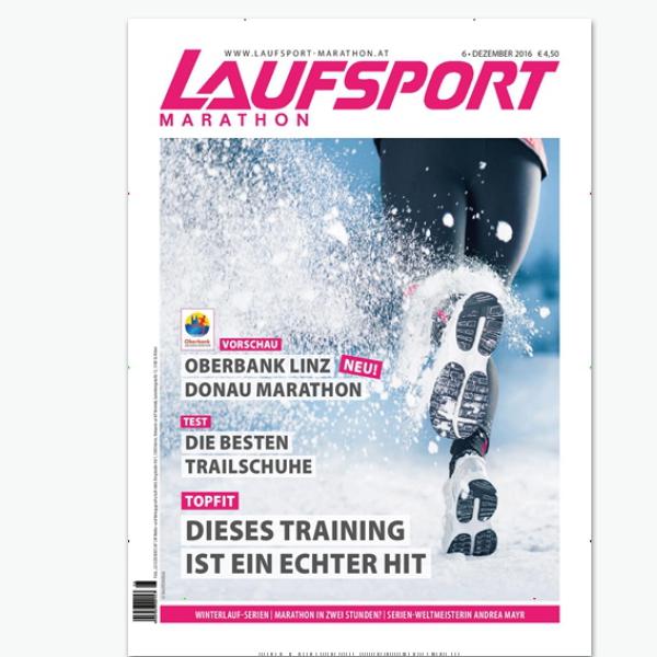 Laufsport Marathon - Sportmagazin im Abonnement