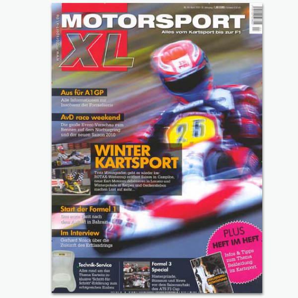 MOTORSPORT XL - Motor-Sportmagazin im Abonnement