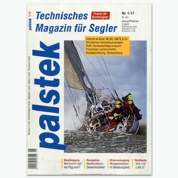 palstek - Segelpsortmagazin im Abonnement