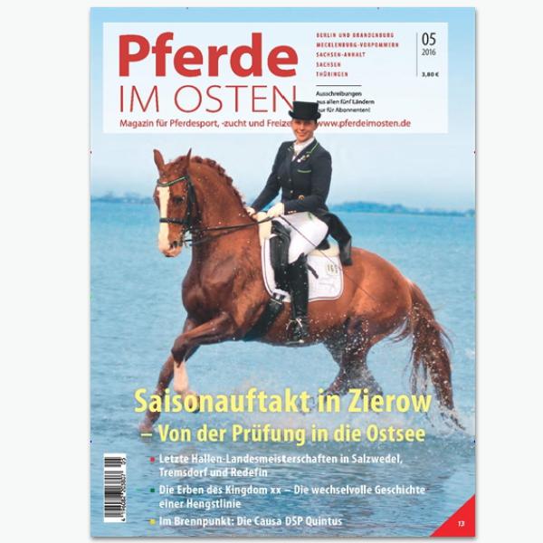 PFERDE im OSTEN - Sportmagazin im Abonnement